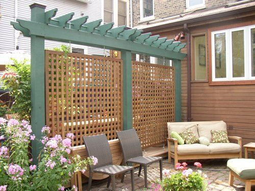 pergola privacy screen